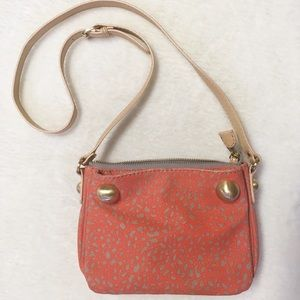 Anthropologie Pilcro Letterpress Crossbody Bag